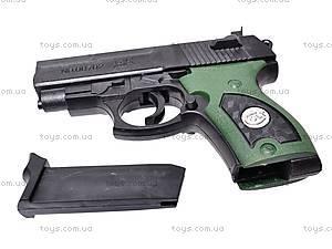 Пистолет игрушечный с пулями, 08702A, цена