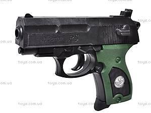 Пистолет игрушечный с пулями, 08702A, игрушки