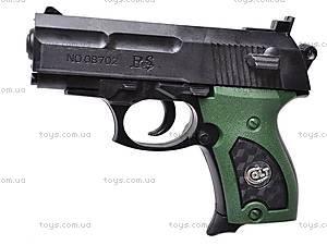 Пистолет игрушечный с пулями, 08702A