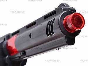 Пистолет интерактивный, 810-1, детские игрушки