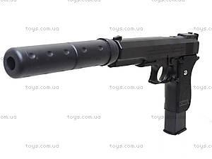 Детский пистолет c глушителем, K2011-K+, купить