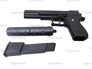 Детский пистолет c глушителем, K2011-K+, отзывы