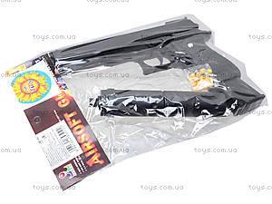 Детский пистолет c глушителем, K2011-K+, игрушки