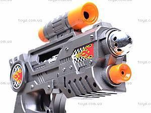 Пистолет лазерный, 8 звуков, 235, фото
