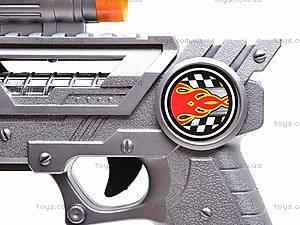 Пистолет лазерный, 8 звуков, 235, игрушки