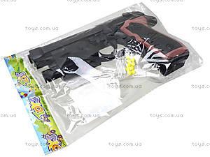 Детский пистолет с пульками и лазером, M-163A1, игрушки