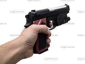 Пистолет детский, с пулями, M163, фото