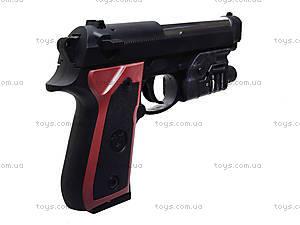 Пистолет детский, с пулями, M163, игрушки