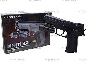 Игрушечный пистолет с лазерным прицелом, M4013A, фото