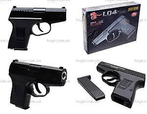 Металлический пистолет с пульками L04, L04