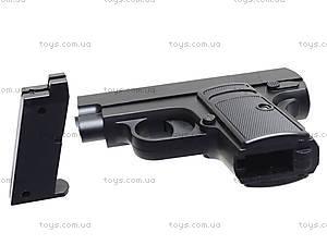 Металлический пистолет D9, с пульками, D9, фото