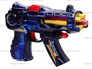 Пистолет для детей, музыкальный, 213
