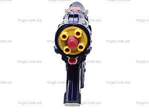 Пистолет для детей, музыкальный, 213, игрушки