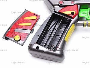 Пистолет музыкальный лазерный, HRF-9023, детские игрушки