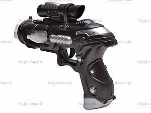 Пистолет музыкальный светящийся, 011-5, купить