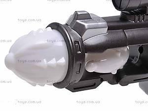Пистолет музыкальный светящийся, 011-5, фото
