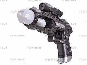 Пистолет музыкальный светящийся, 011-5, отзывы