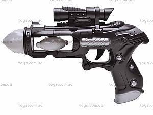 Пистолет музыкальный светящийся, 011-5
