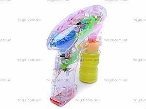 Пистолет «Мыльные пузыри», 69868В, детские игрушки