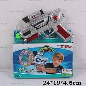 Пистолет, на батарейках, 828-3