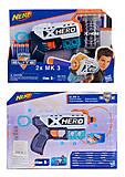 """Пистолет """"NERF"""" X-Hero, на поролоновых пулях, 7012"""