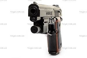 Пистолет Omega, с пульками, 205A, купить
