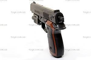 Пистолет Omega, с пульками, 205A, отзывы