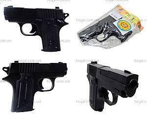 Пистолет с пульками и глушителем, P008C