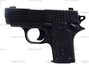Пистолет с пульками и глушителем, P008C, купить