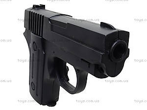 Пистолет с пульками и глушителем, P008C, фото