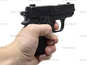 Пистолет с пульками и глушителем, P008C, отзывы