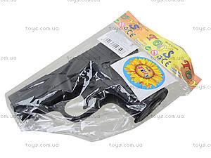 Пистолет с пульками и глушителем, P008C, цена