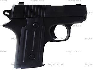 Пистолет с пульками и глушителем, P008C, детские игрушки