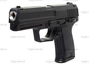 Игрушечный металлический пистолет с пульками, P.13, фото