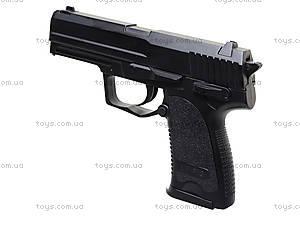 Игрушечный металлический пистолет с пульками, P.13, игрушки