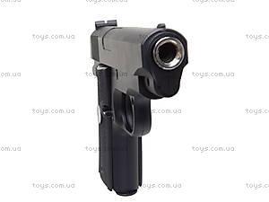 Игрушечный металлический пистолет на пулях, P.16, купить