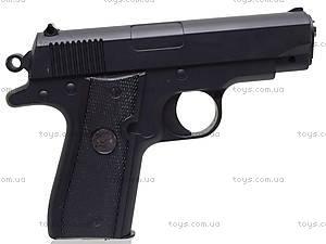 Игрушечный металлический пистолет на пулях, P.16, фото