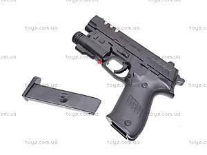 Пистолет с фонариком, 7502-2, купить