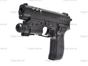 Пистолет с фонариком, 7502-2