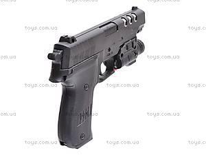Пистолет с фонариком, 7502-2, фото