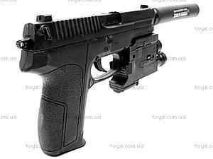 Пистолет с глушителем, SP2022-86, фото