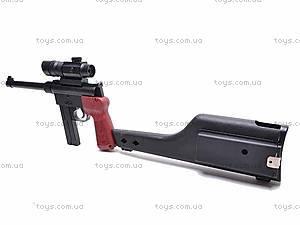 Пистолет с кобурой, 399A, фото