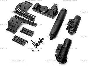 Пистолет, с лазером и пульками, SP2022, фото