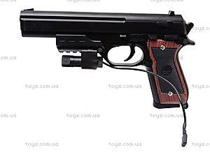 Пистолет с лазером и пульками, 301A (800255), фото
