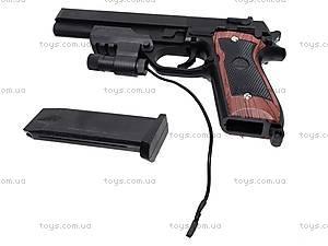 Пистолет с лазером и пульками, 301A (800255), отзывы