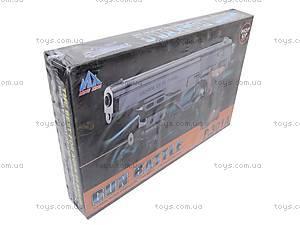 Пистолет с лазером и пульками, 301A (800255)