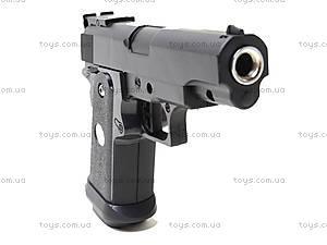 Пистолет с металлическим корпусом, P.17, игрушки