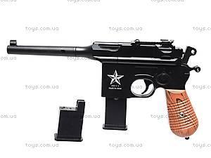 Пистолет с металлическими пульками, G12, игрушки