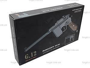 Пистолет с металлическими пульками, G12