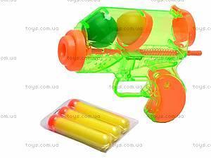 Пистолет с мягкими пульками, 6227